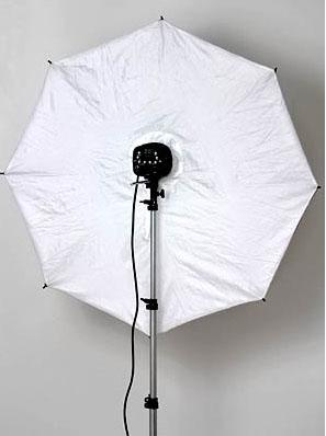 Parasolka softbox 110cm