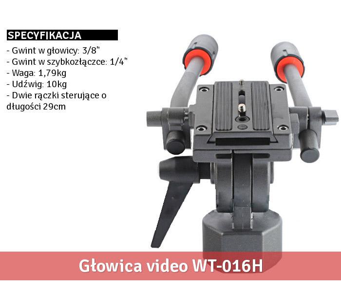 Specyfikacja modelu WT-016H